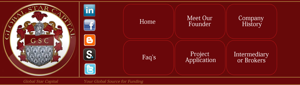 global star capital project funding, start-up loans, credit lines, hard money loans, international Loans